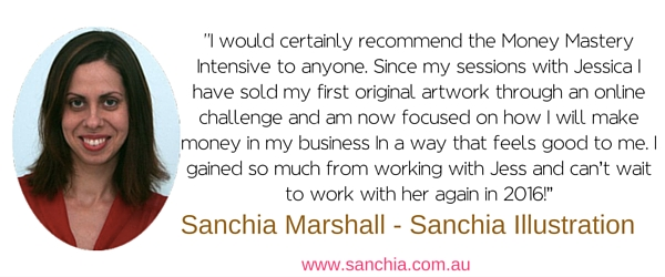 Sanchia testimonial