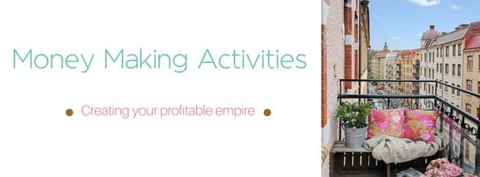 Money Making Activites