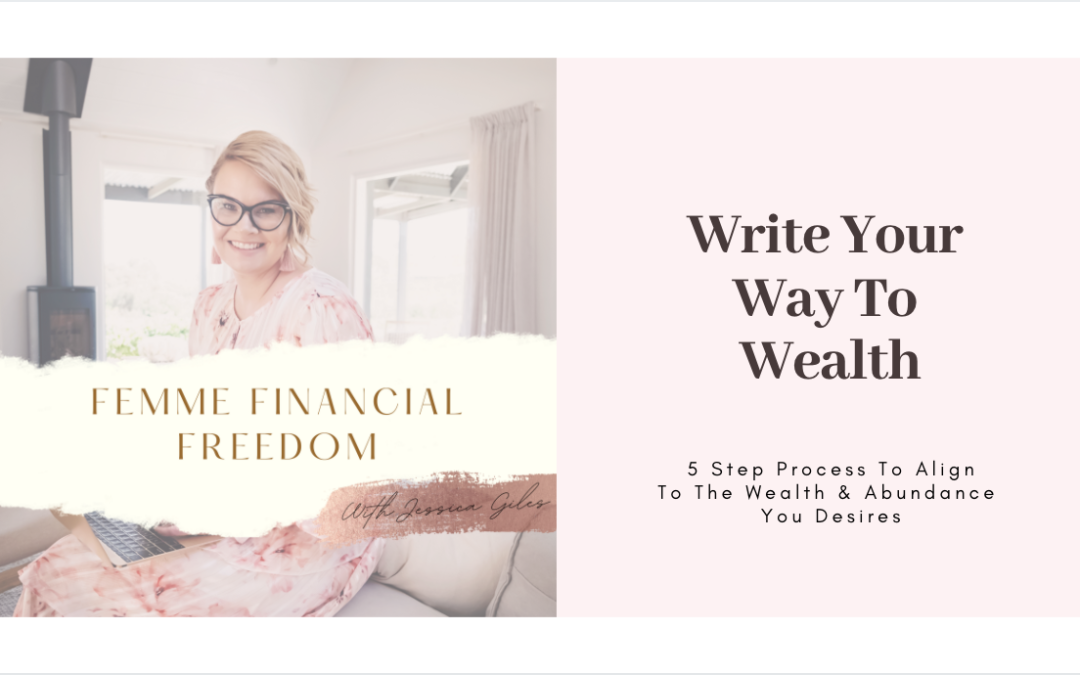 Write Your Way To Wealth