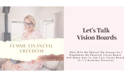 Let's Talk Vision Boards